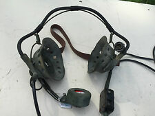 Larkspur style headset with Clansman plug