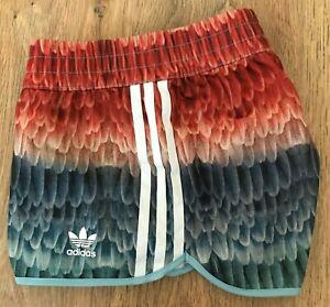 Adidas Originals rare womens Multicolor shorts size 12 (38)