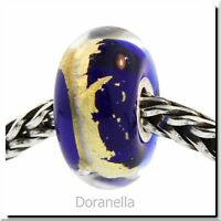 Authentic Trollbeads Glass 62005 Throat Chakra :1