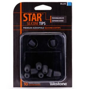 Westone Star Silicone Eartips - Blue - Refurbished