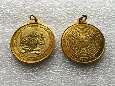 Big Size Sri Panchmukhi Hanuman Yantra Kavach Pendant Locket Amulet - Energized