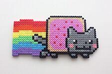 **~ Nyan Cat - Pixel Bead Hama Room Decoration ~**