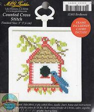 Cross Stitch Mini Kit ~ M.C.G. Birdhouse w/Frame #15305