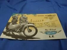 Original Velocette Sales Brochure, The Silent LE, Excellent Condition! VE16