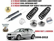 Per BMW E87 1 Serie 2006-2012 2x REAR SHOCK ABSORBER Set + MOLLE + supporti