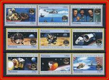 TANZANIA 1994 APOLLO 11 SET # 3 ( WE HAVE 2 MORE) MNH RETURN TO EARTH
