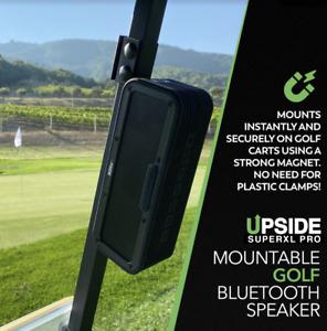 Upside Golf Portable Bluetooth Speaker w/ Magnetic Mount, SUPERXL PRO