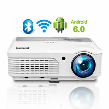 New Listing5000lms Android Wifi Blue-tooth Home Theater Projector Movie Game Wireless Hdmi
