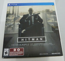 Hitman Collector's Edition Sony Playstation 4 PS4 With Tie And Statue