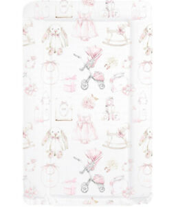 Baby  Vintage Wipe Clean Pink or Blue Changing Mat