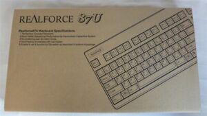 Topre Realforce 87U SE170S Keyboard US 87 Layout New