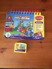 LEAPFROG MY FIRST  LEAPPAD  BOOK AND CARTRIDGE- 'ONCE UPON A RHYME'