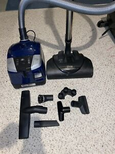 Miele Compact C2 Electro+ 1200W Marine Blue Canister Vacuum - USED but GREAT