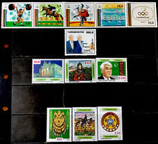Turkmenistan Stamps  #12 All  Different Lot 33021D