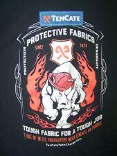 Jerzees Heavyweight Blend Blue Tencate Crewneck Short Sleeve T-Shirt Mens Large