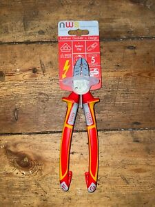 NWS VDE 6-in-1 Electrician's Multi-Function Side Cutter Pliers 1351-49-190*