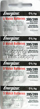 20 pc 395 / 399 Energizer Watch Batteries SR927SW SR927 0% HG