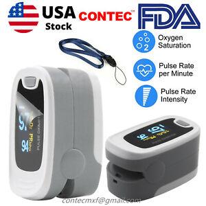 OLED Finger Pulse Oximeter Blood Oxygen Meter Heart Rate SpO2 Monitor Sensor FDA