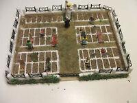 Friedhof #1 mit 32 Grabsteinen Bausatz Cemetary RESIN Kit NEUHEIT Spur N