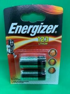 ENERGIZER CR123 3V LITHIUM BATTERY CR123 DL123 CR17345 CAMERA BATTERY