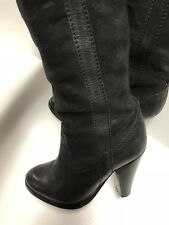 Women's Leather Boots Size 6, Made In Italy