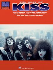 BEST OF KISS FOR BASS GUITAR TAB SHEET MUSIC SONG BOOK