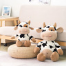 Cute Cow Plush Kawaii Stuffed Plushie Animal Cattle Soft Doll Toy