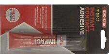 Evo-Stik Instant Contact Adhesive Impact Multi Purpose 30g Glue FREE P&P