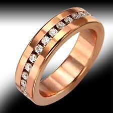 New Vero Vicenza Vomo 1.50ctw White Sapphire Copper Ring - Size 8