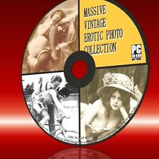 VINTAGE VICTORIAN EDWARDIAN EROTIC GIRL PHOTOS HISTORIC SAUCY COLLECTION CD ROM