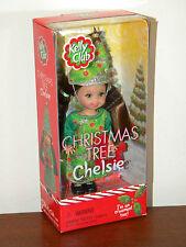 Christmas Tree Chelsie 2001 Kelly Club Doll NRFB #55645 Barbie Christmas