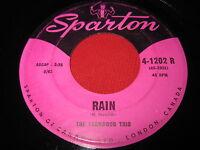 RARE FOLK 45 - THE FERNWOOD TRIO - RAIN / TIMBERING - SPARTON 4-1202 CANADA