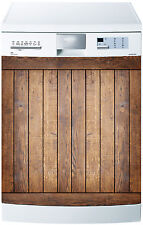 Adesivo lavastoviglie decocrazione cucina elettrodomestici Legno ref 604 60x60cm