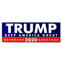 10Pcs Donald Trump Bumper Election Sticker Support Decal 2020 America Great Hot