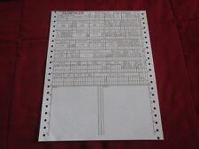 1969 MERCURY COMET CYCLONE MARQUIS MONTEREY MARAUDER COUGAR LINCOLN BUILD SHEET