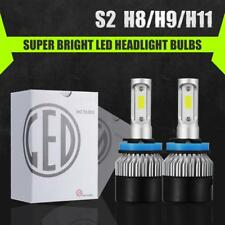 CREE COB LED Headlight Kit H8 H9 H11 1320W 198000LM 6500K Low Beam Fog Bulb HID