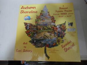 NEW unopened SunsOut Autumn Shoreline 1000 Piece Jigsaw Puzzle