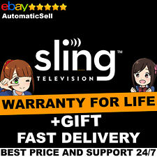 SlingTV | Orange + Blue + Gift | 5 Year Warranty + Instant Delivery