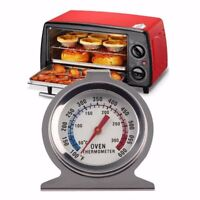 Digital Temperature Oven Thermometer Gauge Stainless Steel Food Cooking Tool 1pc