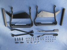 Hard Saddlebag Mounting Brackets for Harley Softail Deluxe (tear drop bags)