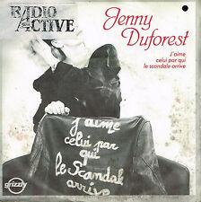 """45T 7"""": Jenny Duforest: j'aime celui par qui le scandale arrive. grizzly. A13"""