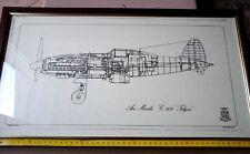 AER MACCHI C.202 FOLGORE -QUADRO ORIGINALE DELLA REGIA AERONAUTICA