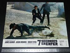 PHOTO CINEMA UA 1968 WESTERN 7 SECONDES EN ENFER STURGES JASON ROBARDS GARNER