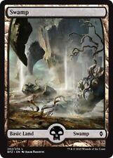 4 x Swamp (262/274) - Battle for Zendikar - Full Art - Magic the Gathering MTG
