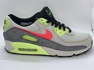 New Authentic Nike Air Max 90 N7 2020 Grey/Volt CV0264001 Men Size 10 MSRP $130