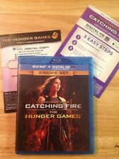 NEW  The Hunger Games / Catching Fire (Blu-ray,2-Movie Set)Authentic US RELEASE