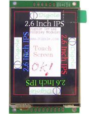 "2.6"" Serial:UART/I2C/SPI IPS TFT 320x240 Touchscreen Display Module Arduino CA"