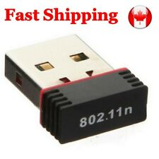 Mini USB 2.0 WiFi Wireless Adapter Network 150Mbps Windows MAC 802.11n