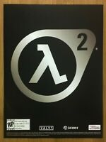 Half-Life 2 PC Xbox 2004 Vintage Print Ad/Poster Official Authentic Promo Art