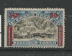 BELGIAN CONGO - CONGO BELGE : COB NR 90 x MH